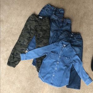 Other - Boy size M jeans and a Shirt !  Great bundle!